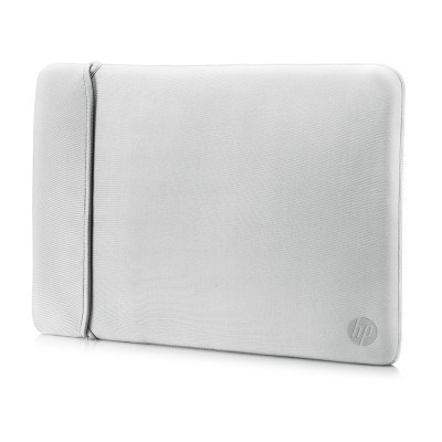 "HP 14.0"" Reversible Sleeve – Black/Silver - BAG"