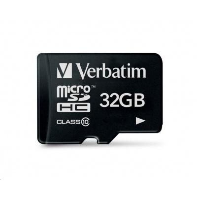 VERBATIM Premium U1 Micro SecureDigital SDHC/SDXC 32GB