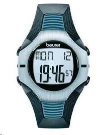 CONRAD Sportovní hodinky s měřením pulzu Beurer PM 26, 675.30, hrudní pás, modrá/šedá/černá