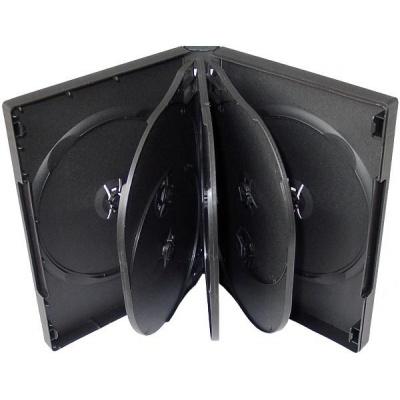 OEM Krabička na 8 DVD černá, 50 ks/bal.