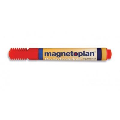 Popisovač Magnetoplan červená (4ks)