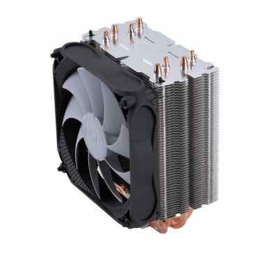 Fortron Chladič CPU Windale 4 Cooler AC401, 4 Heat-Pipe, 180W TPD, 120 mm PWM