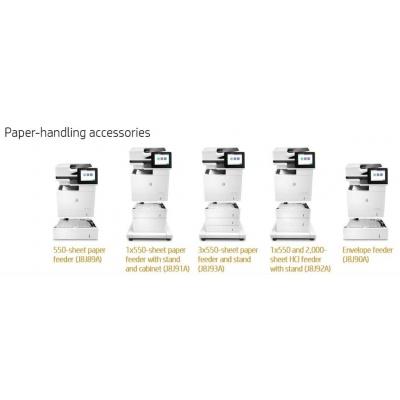 HP LaserJet 3x550 Stand - Skříňka tiskárny + zásobník na 3x550 listů pro LJ M632, M631, E62655, E62665