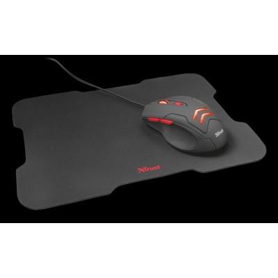 TRUST herní Myš s podložkou Ziva - Trust Ziva Gaming mouse and mouse pad