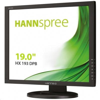 """HANNspree MT LCD HX193DPB 19"""" 1280x1024, 5:4, 250cd/m2,  1000:1 / 40M:1, 5ms"""