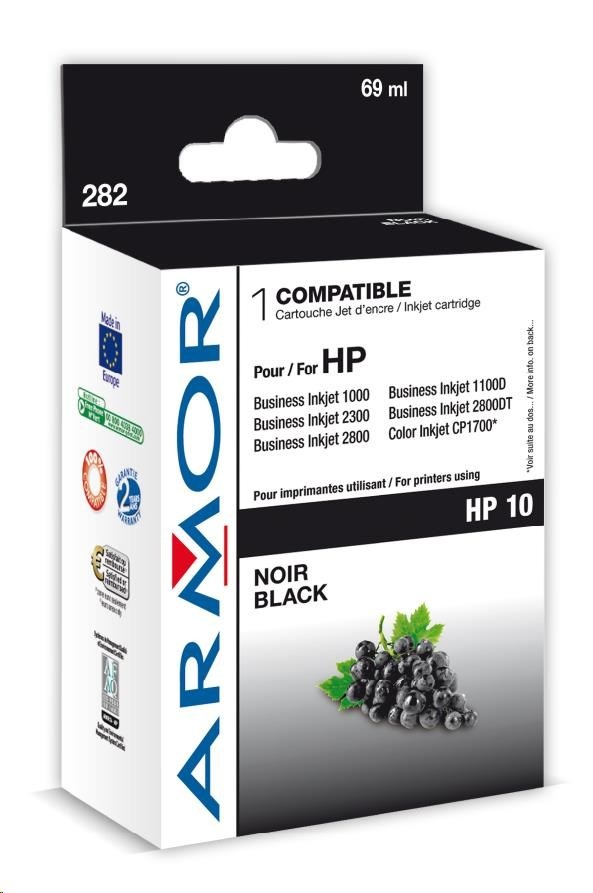 ARMOR cartridge pro HP Officejet 9110/9120/9130 black (C4844A)