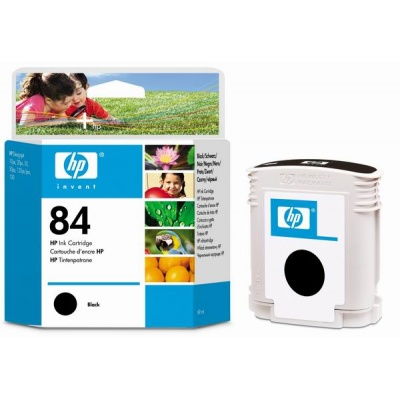 HP 84 Black DJ Ink Cart, 69 ml, C5016A