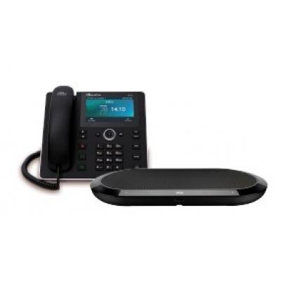 AudioCodes IP konferenční telefon UC-HRS-458 s externím reproduktorem, napájecí zdroj
