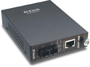 D-Link 10/100 to 100BaseFX (SC) Multimode Media Converter, do 2 km