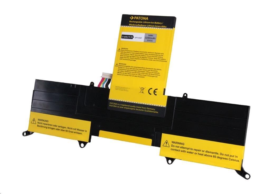 Baterie Patona pro Acer Aspire S3 3280mAh Li-Pol 11,1V