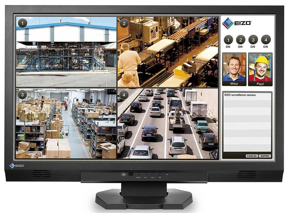"23"", FDF2305W. TN LED, 1920x1080 FullHD, 250cd, 1000:1, DVI-D+HDM+VGA, 24x 7, repro, cierny"