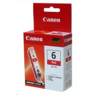 Canon BJ CARTRIDGE red BCI-6R (BCI6R)