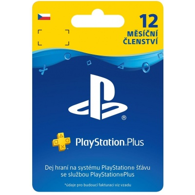 SONY PlayStation Plus Card Hang 365 dní (CZE)