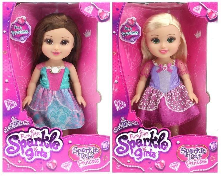 Alltoys Funville Princezna malá Sparkle Girlz