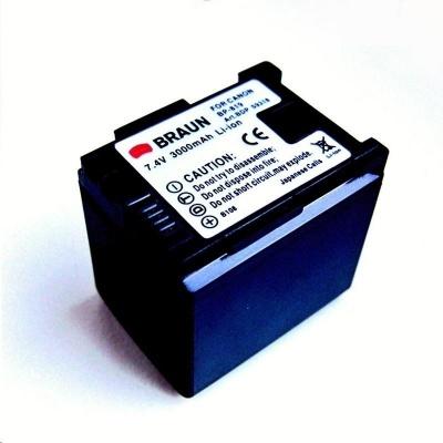 Braun akumulátor CANON BP-819 EC, 3000mAh,