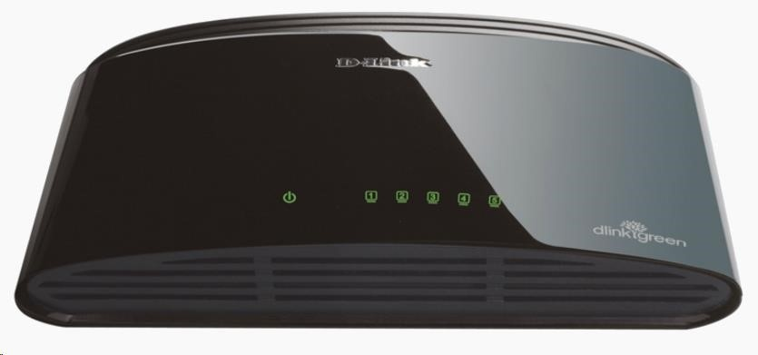 D-Link DES-1005D 5-port 10/100 Desktop Switch