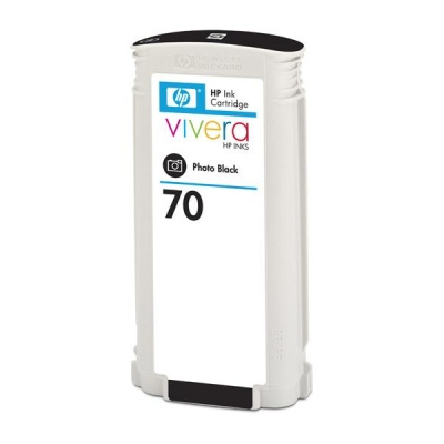 HP 70 Black DJ Ink Cart, 130 ml, C9449A