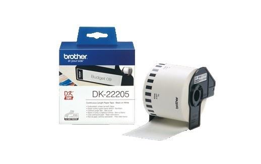 BROTHER DK-22205 papírová role 62mm x 30m