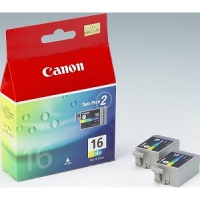 Canon BJ CARTRIDGE colour BCI-16CL (2pcs) twin