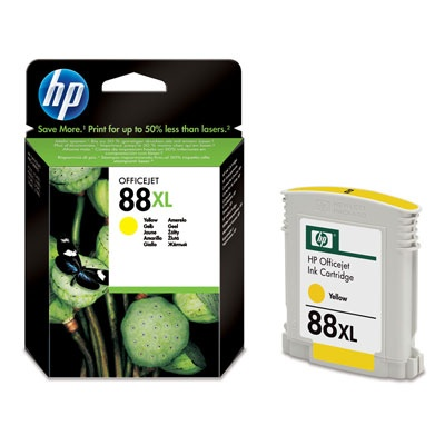 HP 88XL Yellow Ink Cart, 17,1 ml, C9393Ae