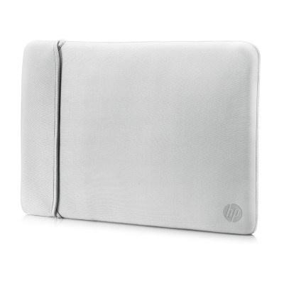 """HP 15.6"""" Reversible Sleeve – Black/Silver - BAG"""