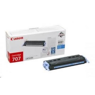 Canon LASER TONER cyan CRG-707C (CRG707C) 2 000 stran*