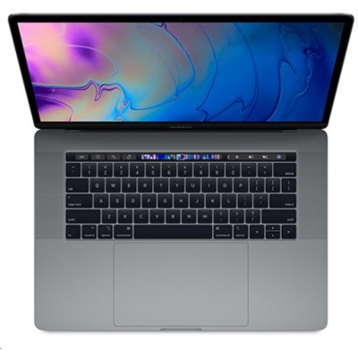 APPLE 15-inch MacBook Pro with Touch Bar: 2.2GHz 6-core 8th-gen. Intel Core i7, 256GB - Space Grey