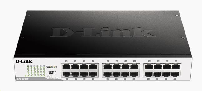D-Link DGS-1024D 24-port 10/100/1000 Gigabit Desktop / Rackmount Switch