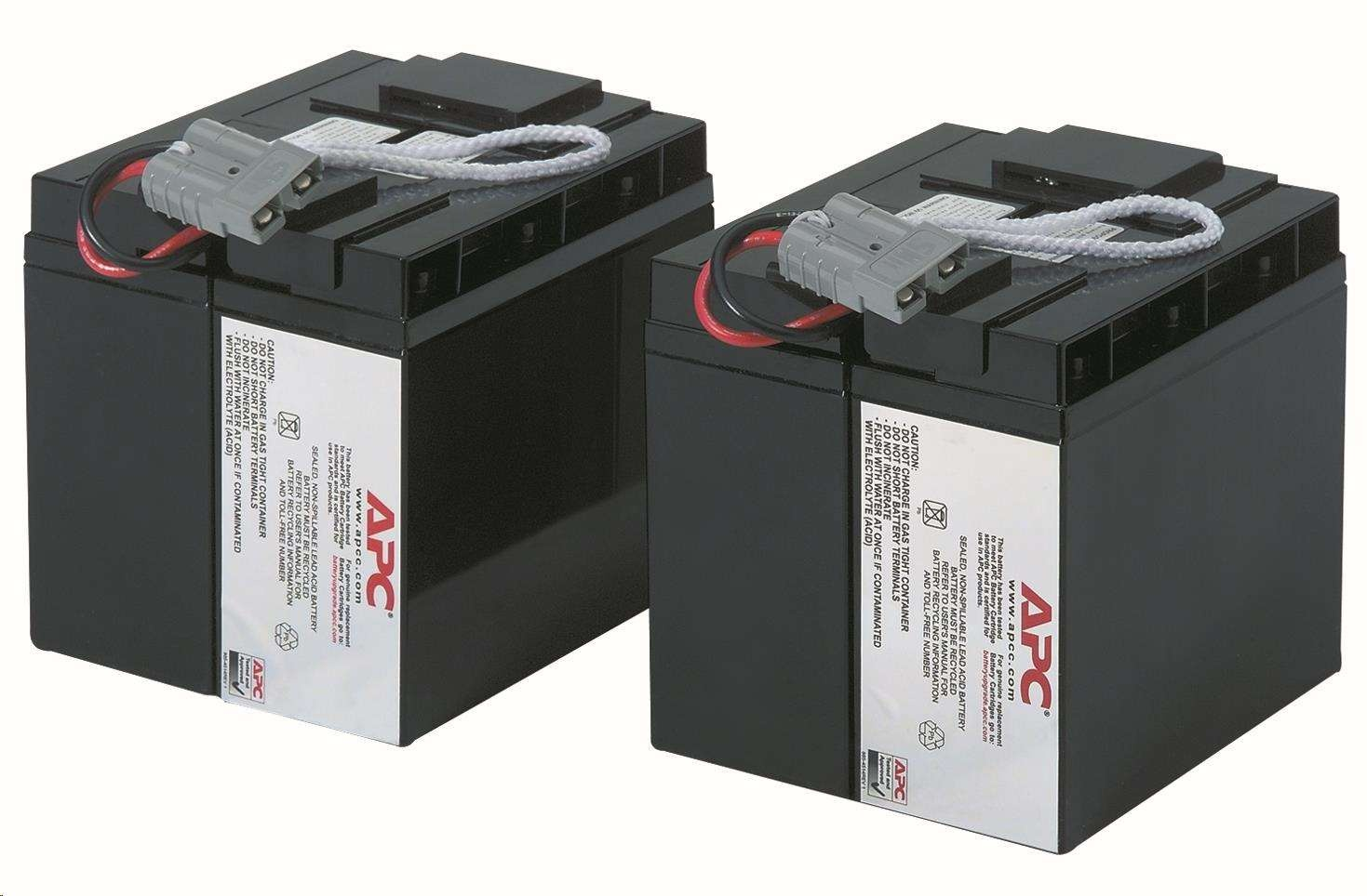 APC Replacement Battery Cartridge #55, SUA2200I, SUA3000I, SMT2200I, SMT3000I, SUA2200XLI, SUA3000XLI, SUA48XLBP